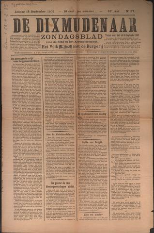 De Dixmudenaar 1907-09-15