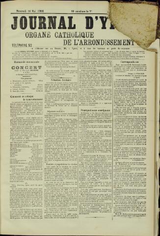 Journal d'Ypres (1874 - 1913) 1906-05-16