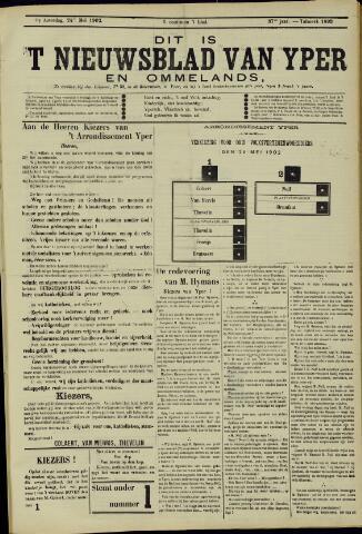 Nieuwsblad van Yperen en van het Arrondissement (1872 - 1912) 1902-05-24