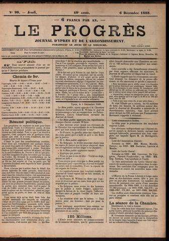 Le Progrès (1841-1914) 1888-12-06