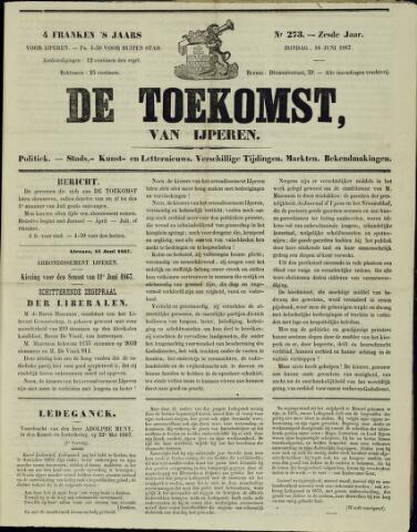 De Toekomst (1862 - 1894) 1867-06-16
