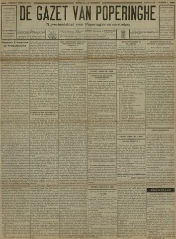 De Gazet van Poperinghe  (1921-1940) 1931-02-01