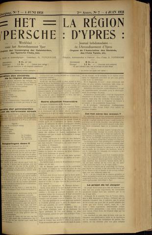 Het Ypersche (1925 - 1929) 1921-06-04