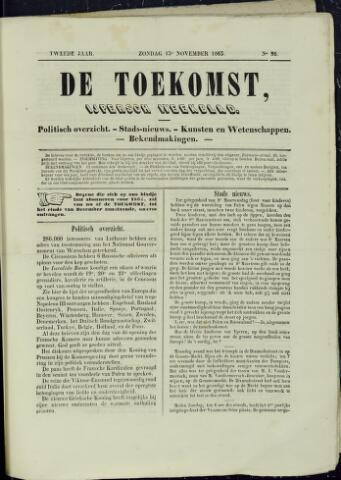 De Toekomst (1862 - 1894) 1863-11-15