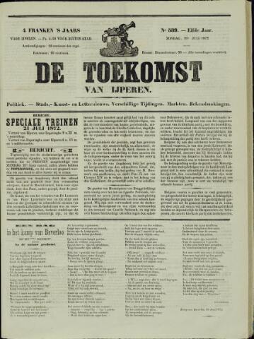 De Toekomst (1862 - 1894) 1872-07-21