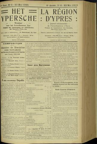 Het Ypersche (1925 - 1929) 1925-05-23