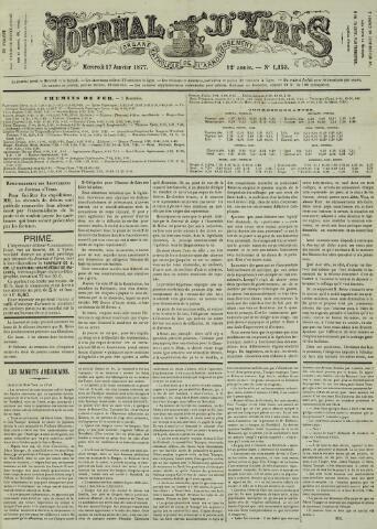Journal d'Ypres (1874 - 1913) 1877-01-17