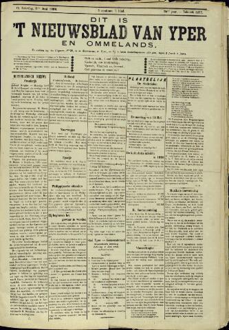 Nieuwsblad van Yperen en van het Arrondissement (1872 - 1912) 1899-06-03