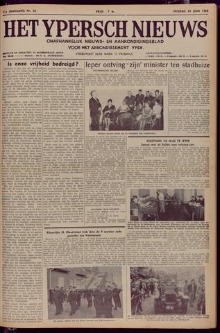 Het Ypersch nieuws (1929-1971) 1968-06-28