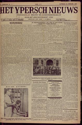 Het Ypersch nieuws (1929-1971) 1960-02-20