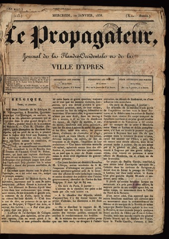 Le Propagateur (1818-1871) 1838