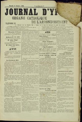 Journal d'Ypres (1874 - 1913) 1906-02-03