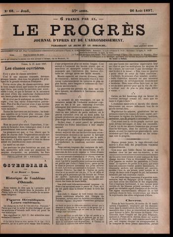 Le Progrès (1841-1914) 1897-08-26