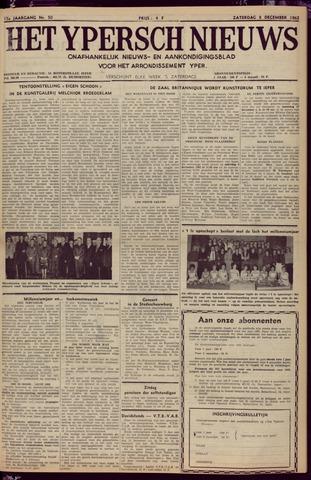 Het Ypersch nieuws (1929-1971) 1962-12-08