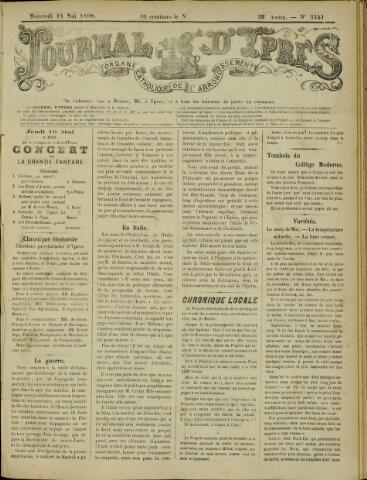 Journal d'Ypres (1874 - 1913) 1898-05-18