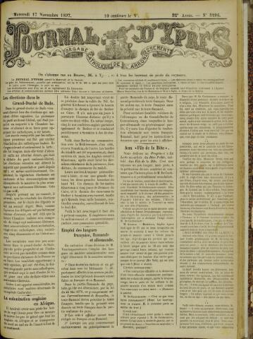 Journal d'Ypres (1874 - 1913) 1897-11-17