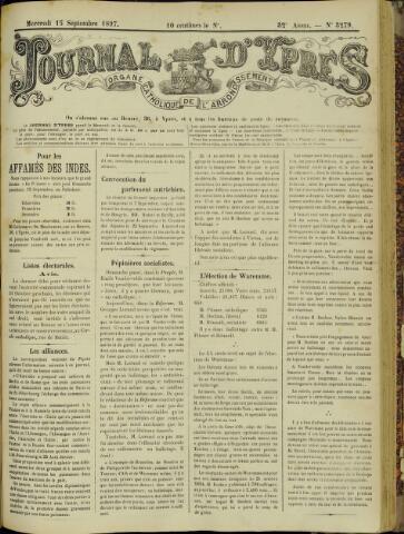 Journal d'Ypres (1874 - 1913) 1897-09-15