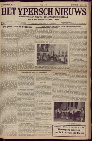 Het Ypersch nieuws (1929-1971) 1964-07-04