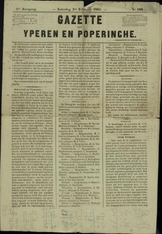 Gazette van Yperen (1857-1862) 1861-02-02