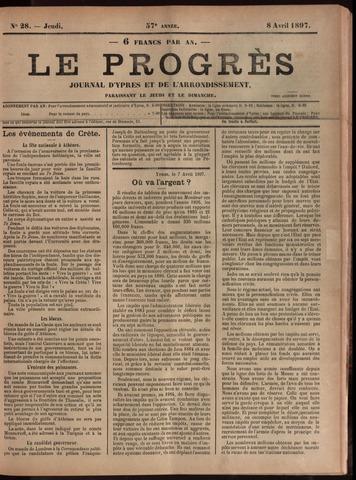 Le Progrès (1841-1914) 1897-04-08