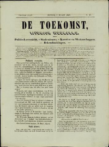 De Toekomst (1862 - 1894) 1863-03-01