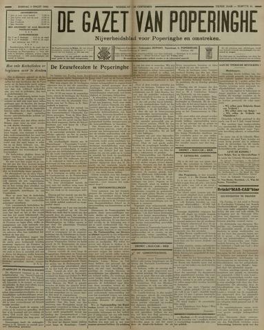 De Gazet van Poperinghe  (1921-1940) 1930-08-03