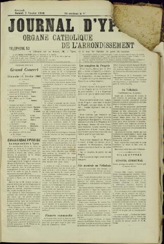 Journal d'Ypres (1874 - 1913) 1906-02-07