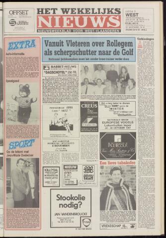 Het Wekelijks Nieuws (1946-1990) 1987-10-23
