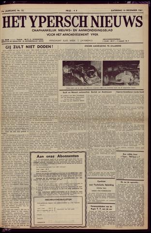 Het Ypersch nieuws (1929-1971) 1961-12-16