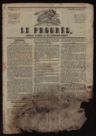 Le Progrès (1841-1914) 1841-08-29