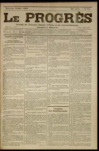 Le Progrès (1841-1914) 1905-03-12