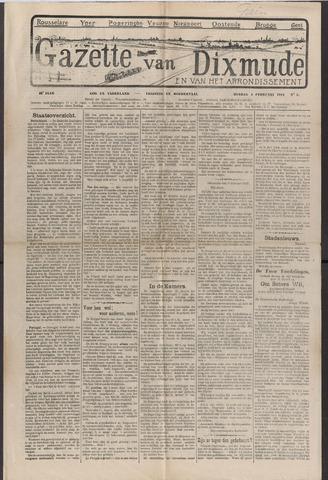 Gazette van Dixmude 1912-02-04