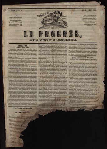Le Progrès (1841-1914) 1841-08-03