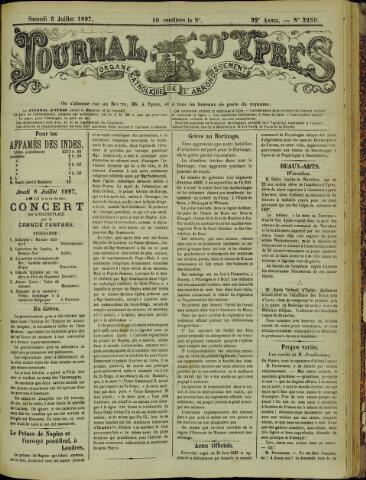 Journal d'Ypres (1874 - 1913) 1897-07-03