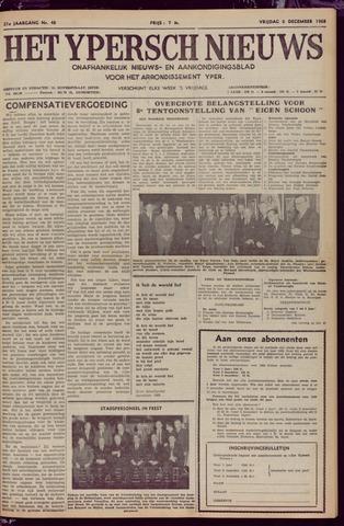 Het Ypersch nieuws (1929-1971) 1968-12-06