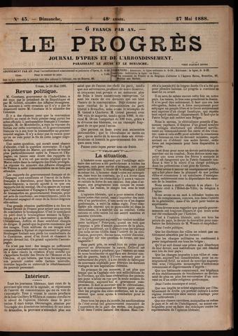 Le Progrès (1841-1914) 1888-05-27