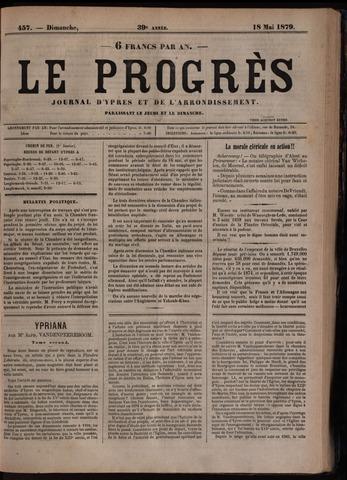 Le Progrès (1841-1914) 1879-05-18