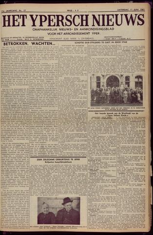 Het Ypersch nieuws (1929-1971) 1961-06-17