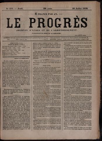 Le Progrès (1841-1914) 1879-07-10