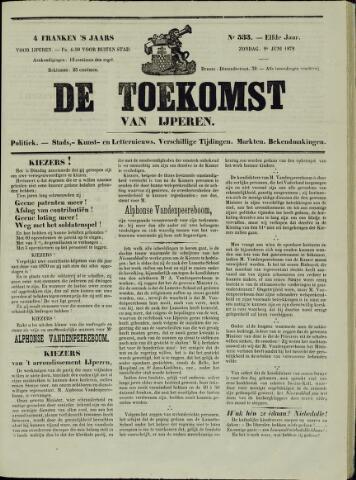 De Toekomst (1862 - 1894) 1872-06-09