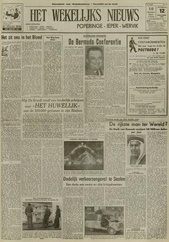 Het Wekelijks Nieuws (1946-1990) 1953-12-12
