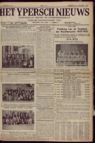 Het Ypersch nieuws (1929-1971) 1960-01-16
