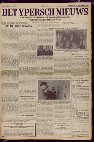 Het Ypersch nieuws (1929-1971) 1965-09-04