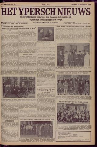 Het Ypersch nieuws (1929-1971) 1968-08-16