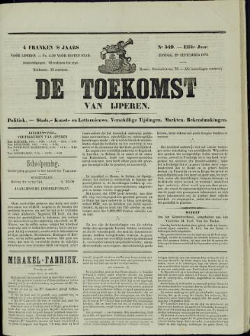 De Toekomst (1862 - 1894) 1872-09-29