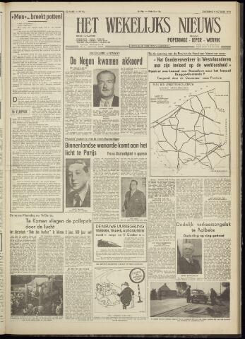 Het Wekelijks Nieuws (1946-1990) 1954-10-09