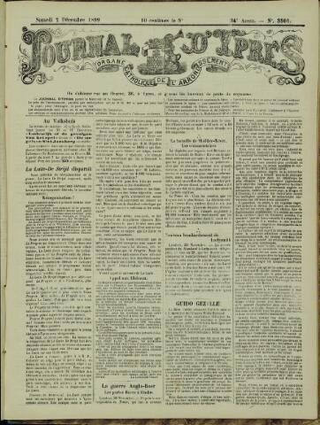 Journal d'Ypres (1874 - 1913) 1899-12-02