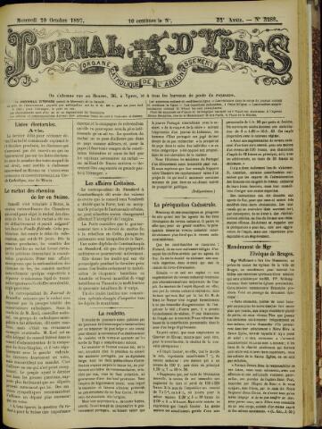 Journal d'Ypres (1874 - 1913) 1897-10-20