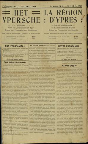 Het Ypersche (1925 - 1929) 1920-04-25
