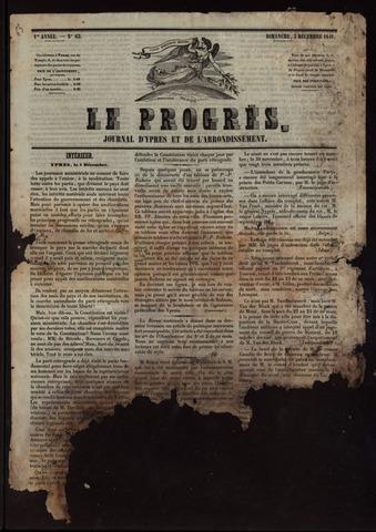 Le Progrès (1841-1914) 1841-12-05